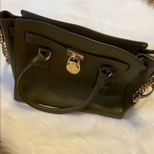 Olive Green Michael Kors purse